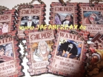 "One Piece Keychains ""Wanted"""