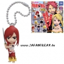 Fairy Tail - Deformed Figure - Erza Keychain/ Figur