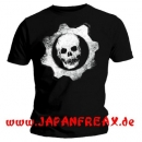 Gears Of War 3 T-Shirt Dripping Wheel