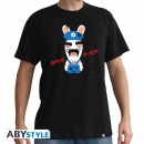 "Raving Rabbids - Tshirt ""Game Over"" L"